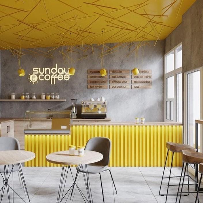 Amarillo y gris. Pantone 2021